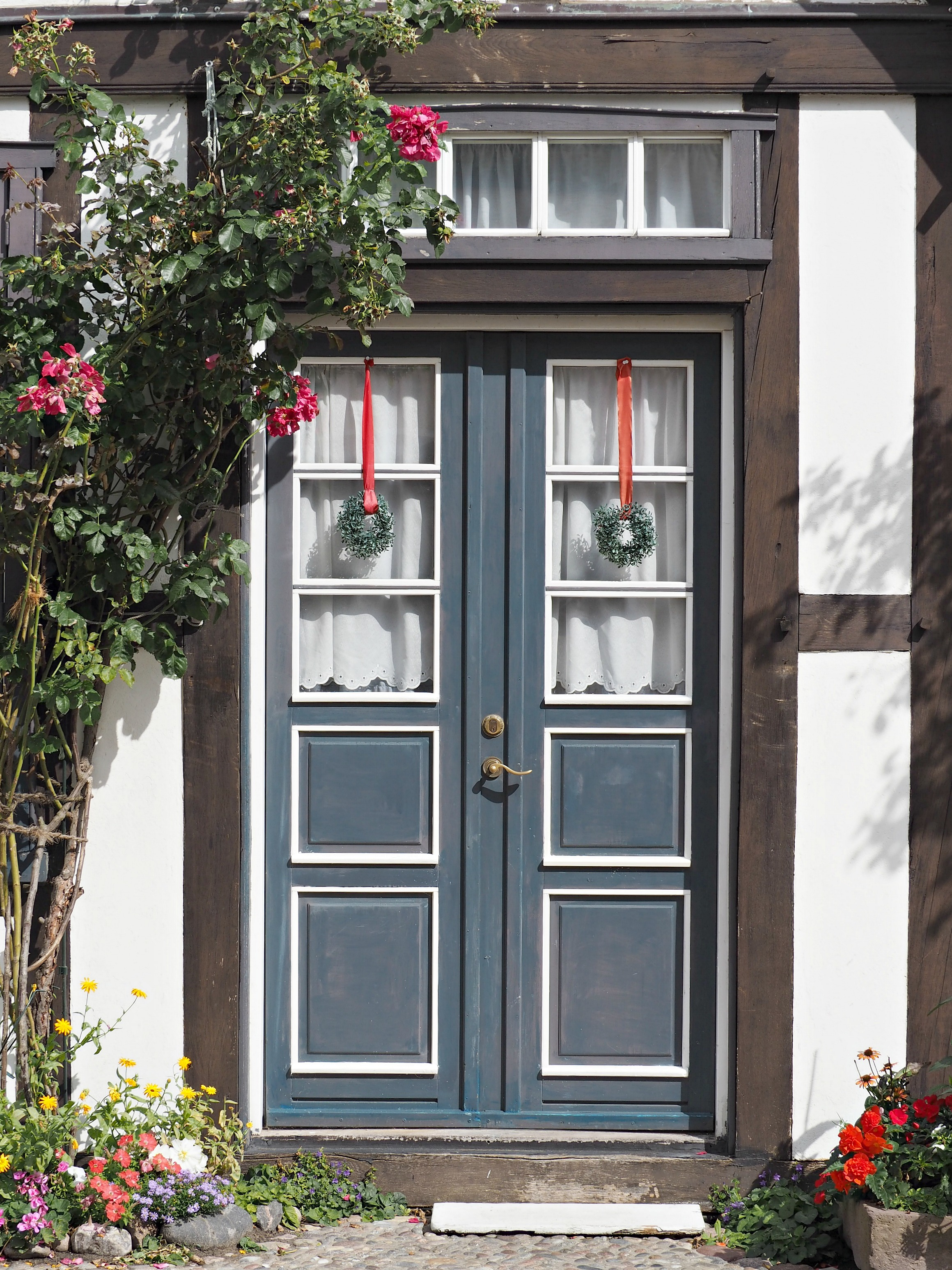 pretty doors in warnemunde