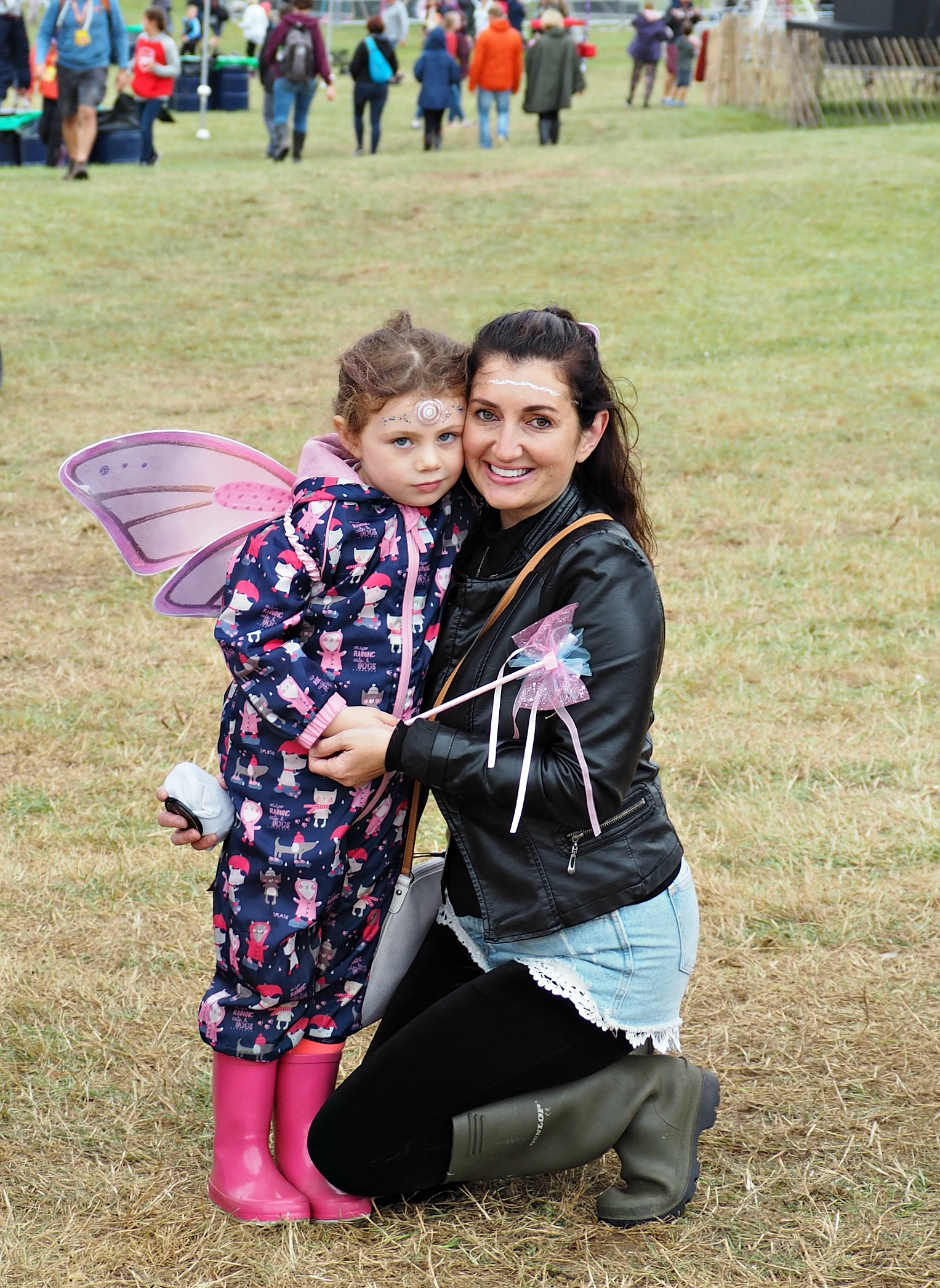 My Daughter and I at Camp Bestival 2017
